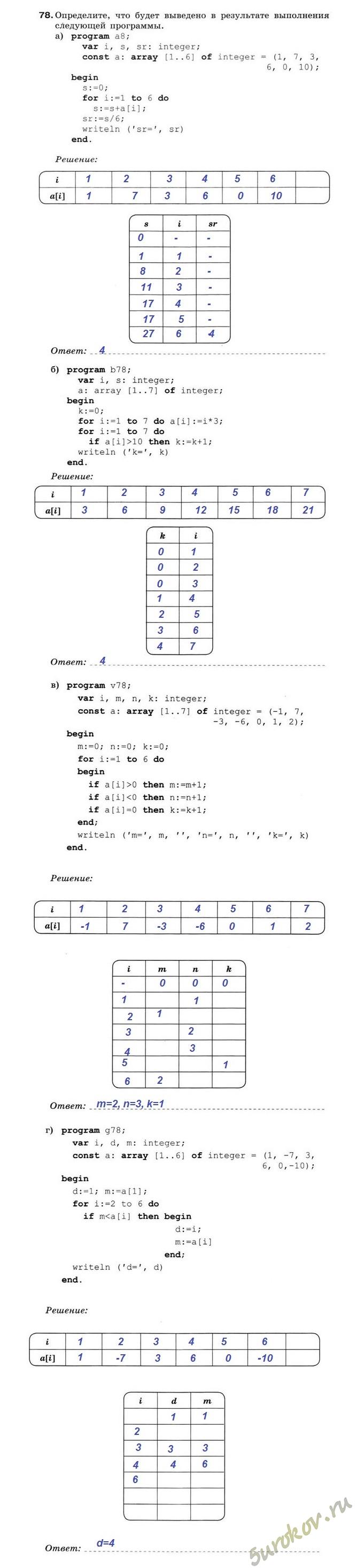 Решебник По Информатике 5 Класс Макарова Ответы К Заданию П-2.4